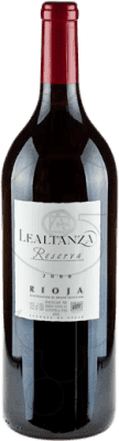 25,95 € Free Shipping | Red wine Lealtanza Reserva D.O.Ca. Rioja The Rioja Spain Tempranillo Magnum Bottle 1,5 L