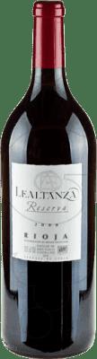 29,95 € Envoi gratuit | Vin rouge Lealtanza Reserva D.O.Ca. Rioja La Rioja Espagne Tempranillo Bouteille Magnum 1,5 L