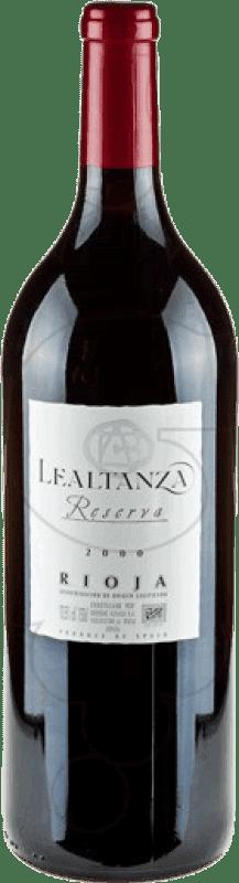24,95 € Kostenloser Versand | Rotwein Altanza Lealtanza Reserva D.O.Ca. Rioja La Rioja Spanien Tempranillo Magnum-Flasche 1,5 L