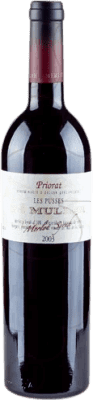 15,95 € Free Shipping | Red wine De Muller Les Pusses Reserva D.O.Ca. Priorat Catalonia Spain Bottle 75 cl