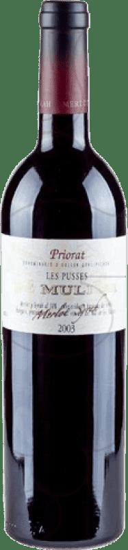 16,95 € Envío gratis | Vino tinto De Muller Les Pusses Reserva D.O.Ca. Priorat Cataluña España Botella 75 cl