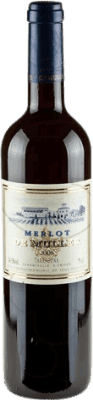 7,95 € Free Shipping | Red wine De Muller Negre Crianza D.O. Tarragona Catalonia Spain Merlot Bottle 75 cl
