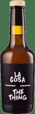 8,95 € Free Shipping | Fortified wine Maestro Tejero La Cosa-The Thing I.G.P. Vino de la Tierra de Castilla y León Castilla y León Spain Muscat Half Bottle 37 cl
