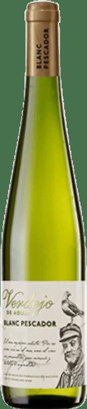 4,95 € Free Shipping | White sparkling Perelada Pescador Catalonia Spain Verdejo Bottle 75 cl
