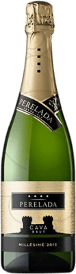 6,95 € Free Shipping | White sparkling Perelada Millésimé Brut Reserva D.O. Cava Catalonia Spain Macabeo, Xarel·lo, Parellada Bottle 75 cl | Thousands of wine lovers trust us to get the best price guarantee, free shipping always and hassle-free shopping and returns.