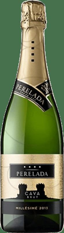 6,95 € Free Shipping | White sparkling Perelada Millésimé Brut Reserva D.O. Cava Catalonia Spain Macabeo, Xarel·lo, Parellada Bottle 75 cl