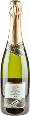 7,95 € Free Shipping | White sparkling Perelada Brut Nature Reserva D.O. Cava Catalonia Spain Macabeo, Xarel·lo, Parellada Bottle 75 cl