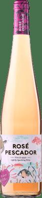 4,95 € Envío gratis | Espumoso rosado Perelada Pescador Rose Cataluña España Merlot, Garnacha, Trepat Botella 75 cl