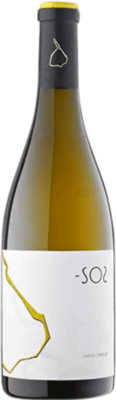 21,95 € Free Shipping | White wine Castell d'Encús -SO2 Crianza D.O. Costers del Segre Catalonia Spain Sauvignon White, Sémillon Bottle 75 cl