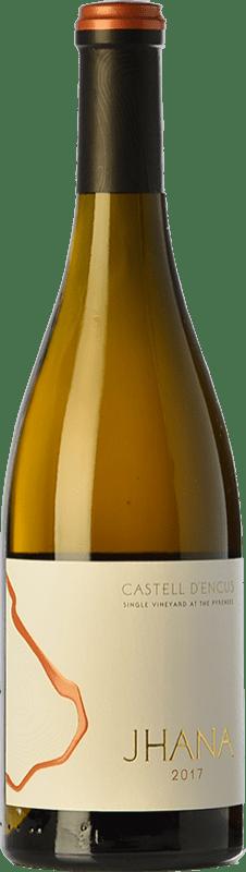 25,95 € Free Shipping | Rosé wine Castell d'Encús Jhana Joven D.O. Costers del Segre Catalonia Spain Merlot, Petit Verdot Bottle 75 cl