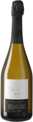 59,95 € Envoi gratuit | Blanc moussant Castell d'Encús Taika D.O. Costers del Segre Catalogne Espagne Sauvignon Blanc, Sémillon Bouteille 75 cl