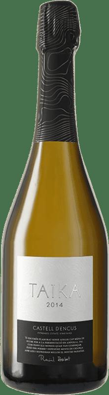 41,95 € Free Shipping | White sparkling Castell d'Encús Taika D.O. Costers del Segre Catalonia Spain Sauvignon White, Sémillon Bottle 75 cl