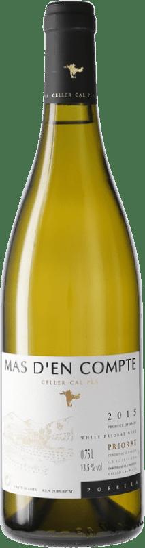 16,95 € Envío gratis   Vino blanco Cal Pla Mas d'en Compte Crianza D.O.Ca. Priorat Cataluña España Botella 75 cl