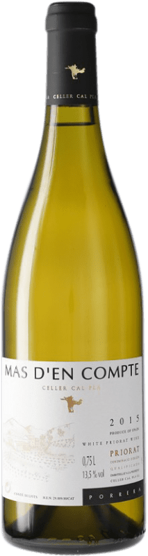 16,95 € Free Shipping | White wine Cal Pla Mas d'en Compte Crianza D.O.Ca. Priorat Catalonia Spain Bottle 75 cl