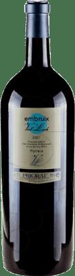 131,95 € Free Shipping | Red wine Vall Llach Embruix Crianza D.O.Ca. Priorat Catalonia Spain Merlot, Syrah, Grenache, Cabernet Sauvignon, Mazuelo, Carignan Special Bottle 5 L