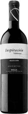 12,95 € Free Shipping | Red wine Valdemar Inspiración Selección Crianza D.O.Ca. Rioja The Rioja Spain Tempranillo, Graciano, Maturana Tinta Bottle 75 cl
