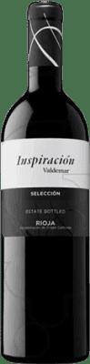 9,95 € Kostenloser Versand | Rotwein Valdemar Inspiración Selección Crianza D.O.Ca. Rioja La Rioja Spanien Tempranillo, Graciano, Maturana Tinta Flasche 75 cl