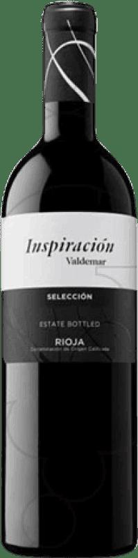 9,95 € Free Shipping | Red wine Valdemar Inspiración Selección Crianza D.O.Ca. Rioja The Rioja Spain Tempranillo, Graciano, Maturana Tinta Bottle 75 cl