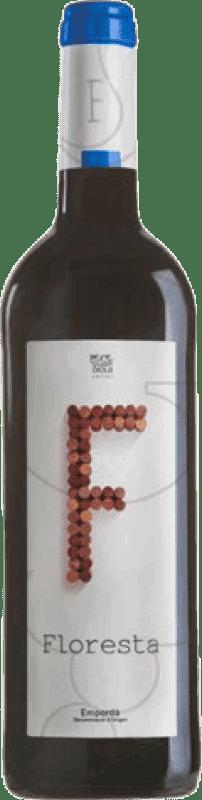 5,95 € Free Shipping | Red wine Pere Guardiola Floresta Negre Joven D.O. Empordà Catalonia Spain Syrah, Grenache Bottle 75 cl