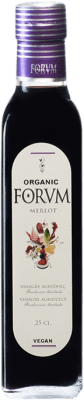 5,95 € Free Shipping | Vinegar Augustus Merlot Forum Spain Merlot Small Bottle 25 cl