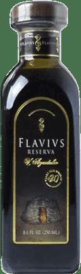 18,95 € Free Shipping | Vinegar Augustus Flavivs Reserva Spain Cabernet Sauvignon Small Bottle 25 cl