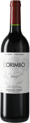 15,95 € Envío gratis | Vino tinto La Horra Corimbo Crianza D.O. Ribera del Duero Castilla y León España Tempranillo Botella 75 cl