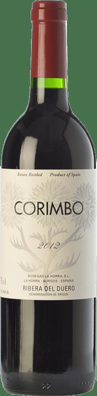 39,95 € Envío gratis | Vino tinto La Horra Corimbo Crianza D.O. Ribera del Duero Castilla y León España Tempranillo Botella Mágnum 1,5 L