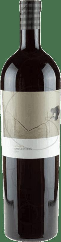 167,95 € Envío gratis | Vino tinto Valderiz Tomás Esteban 2003 D.O. Ribera del Duero Castilla y León España Botella Mágnum 1,5 L