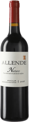 22,95 € Free Shipping | Red wine Allende Nature Joven D.O.Ca. Rioja The Rioja Spain Tempranillo Bottle 75 cl