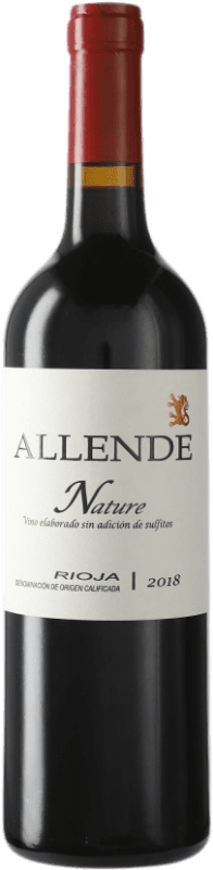 19,95 € Free Shipping | Red wine Allende Nature Joven D.O.Ca. Rioja The Rioja Spain Tempranillo Bottle 75 cl