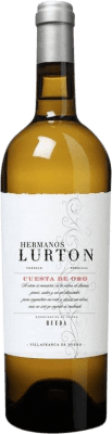 19,95 € Envoi gratuit | Vin blanc Albar Lurton Hermanos Lurton Cuesta Oro Crianza D.O. Rueda Castille et Leon Espagne Verdejo Bouteille 75 cl