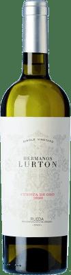 23,95 € Free Shipping | White wine Albar Lurton Hermanos Lurton Cuesta Oro Crianza D.O. Rueda Castilla y León Spain Verdejo Bottle 75 cl