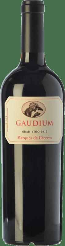 43,95 € Envoi gratuit | Vin rouge Marqués de Cáceres Gaudium D.O.Ca. Rioja La Rioja Espagne Tempranillo, Graciano Bouteille 75 cl