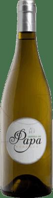 19,95 € Free Shipping | White wine Vinos del Atlántico Castelo do Papa Joven D.O. Valdeorras Galicia Spain Godello Bottle 75 cl