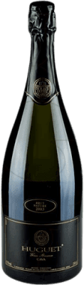 31,95 € Envío gratis | Espumoso blanco Huguet de Can Feixes Brut Nature Gran Reserva D.O. Cava Cataluña España Pinot Negro, Macabeo, Parellada Botella Mágnum 1,5 L