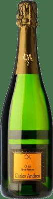 6,95 € Kostenloser Versand | Weißer Sekt Carles Andreu Brut Natur Joven D.O. Cava Katalonien Spanien Macabeo, Parellada Flasche 75 cl