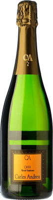 6,95 € Free Shipping | White sparkling Carles Andreu Brut Nature Joven D.O. Cava Catalonia Spain Macabeo, Parellada Bottle 75 cl