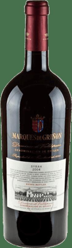 43,95 € Envío gratis | Vino tinto Marqués de Griñón D.O.P. Vino de Pago Dominio de Valdepusa Castilla la Mancha y Madrid España Syrah Botella Mágnum 1,5 L