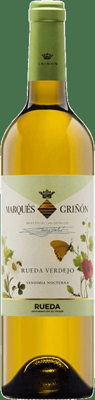 7,95 € Envoi gratuit | Vin blanc Marqués de Griñón Joven D.O. Rueda Castille et Leon Espagne Verdejo Bouteille 75 cl