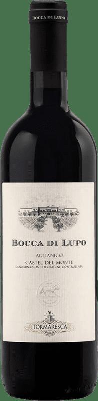 48,95 € Free Shipping | Red wine Tormaresca Bocca di Lupo Otras D.O.C. Italia Italy Aglianico Bottle 75 cl