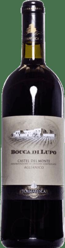126,95 € Free Shipping | Red wine Tormaresca Bocca di Lupo 2008 Otras D.O.C. Italia Italy Aglianico Magnum Bottle 1,5 L