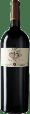 86,95 € Kostenloser Versand | Rotwein Señorío de San Vicente D.O.Ca. Rioja La Rioja Spanien Tempranillo Magnum-Flasche 1,5 L