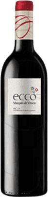 4,95 € Free Shipping | Red wine Marqués de Vitoria Ecco Joven D.O.Ca. Rioja The Rioja Spain Tempranillo Bottle 75 cl