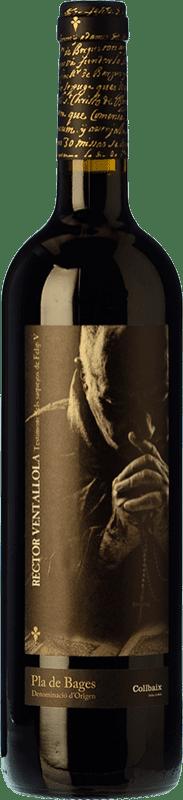 15,95 € Envío gratis | Vino tinto El Molí Collbaix El Rector de Ventallola Crianza D.O. Pla de Bages Cataluña España Merlot, Cabernet Sauvignon, Cabernet Franc Botella 75 cl