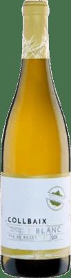 9,95 € Envío gratis | Vino blanco El Molí Collbaix Picapoll Joven D.O. Pla de Bages Cataluña España Macabeo, Picapoll Botella 75 cl