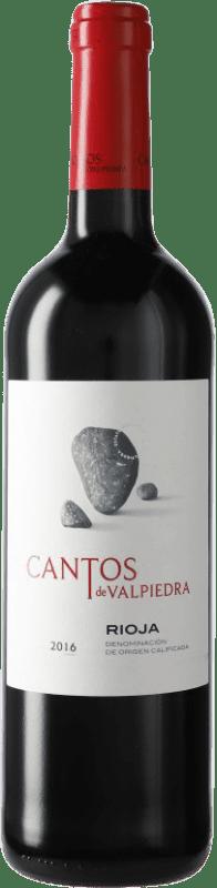 8,95 € Envío gratis | Vino tinto Finca Valpiedra Cantos de Valpiedra Crianza D.O.Ca. Rioja La Rioja España Tempranillo Botella 75 cl
