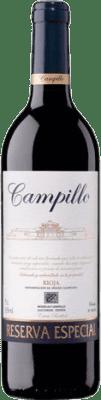 23,95 € Free Shipping | Red wine Campillo Especial Reserva D.O.Ca. Rioja The Rioja Spain Tempranillo, Graciano Bottle 75 cl
