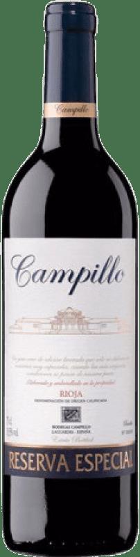 23,95 € Envoi gratuit   Vin rouge Campillo Especial Reserva D.O.Ca. Rioja La Rioja Espagne Tempranillo, Graciano Bouteille 75 cl