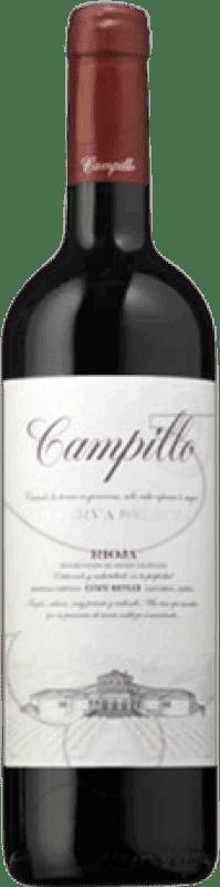 27,95 € Envoi gratuit   Vin rouge Campillo Reserva D.O.Ca. Rioja La Rioja Espagne Tempranillo Bouteille Magnum 1,5 L