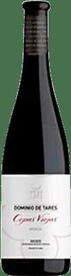 12,95 € Free Shipping | Red wine Dominio de Tares Cepas Viejas Crianza D.O. Bierzo Castilla y León Spain Mencía Half Bottle 50 cl